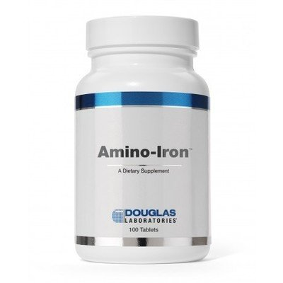 Amino Iron 18 mg 100 tablets
