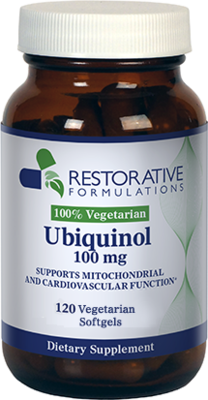 Ubiquinol 100mg 120 soft gels