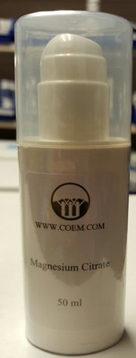 Magnesium Citrate Topical Cream 2 oz
