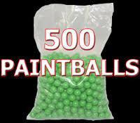 .50 caliber- Planet Paintballs - 500 count bag - always in stock