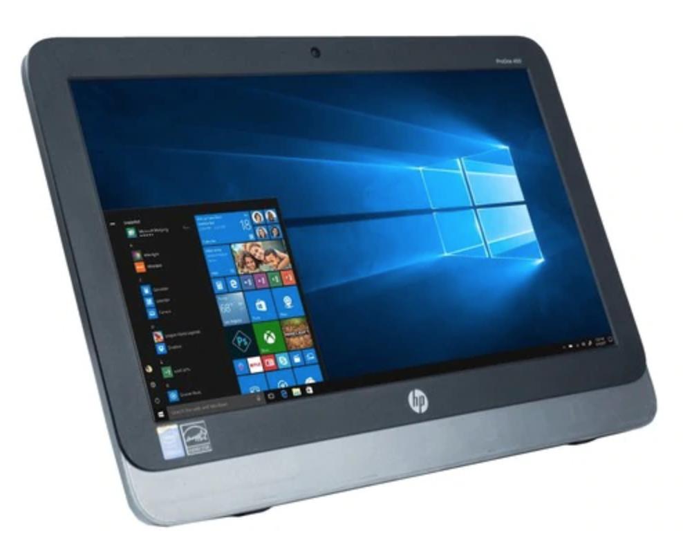 "20"" HP ProOne 400 All-In-One Desktop, Quad-Core i5, 500GB, 8GB RAM, Windows 10 PRO"