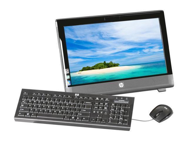 "20"" HP 100B All-in-One Desktop, AMD, 500GB, 4GB RAM, CD/DVD RW, Windows 10 with WiFi"