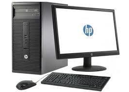 HP Desktop Bundle, i5, 500GB, 8GB RAM, Windows 10, all accessories