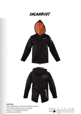Jetpilot Tour Coat Black