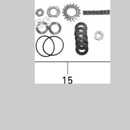 OEM Sea Doo SUPERCHARGER CLUTCH KIT RXP/RXT 05 420881942