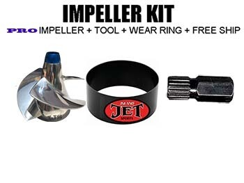 PRO Impeller Performance KIT Sea Doo RXP 215 09-11,GTR 215 12-up