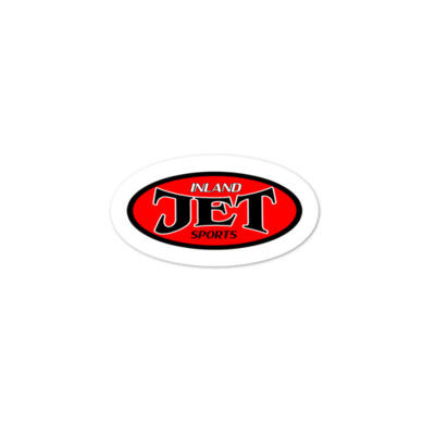 Old School 1994 Inland Jet Sports Oval Bubble-free stickers