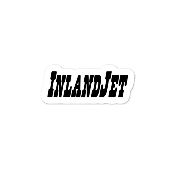 InlandJet Regulator Black Bubble-free stickers