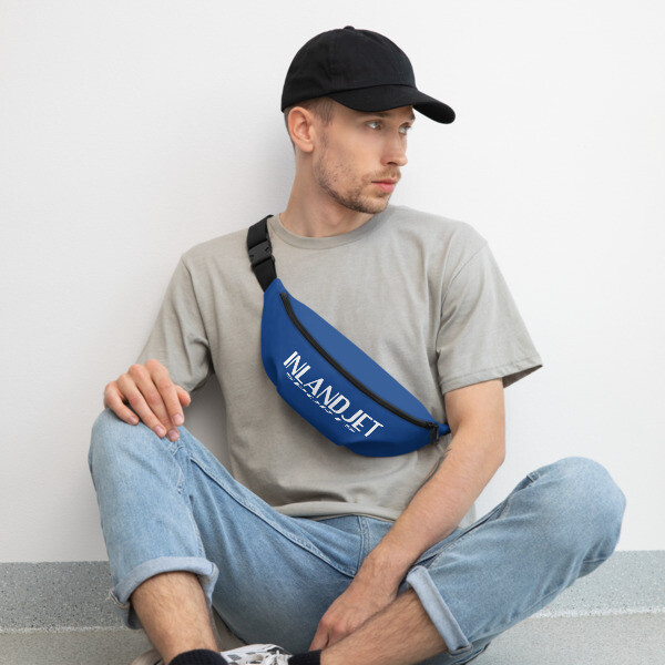 InlandJet Sports Fanny Pack Blue