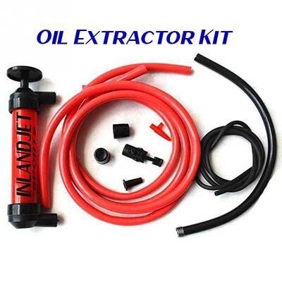 IJS Hand Held Oil Extractor kit