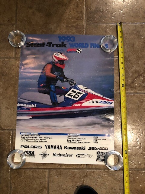 1993 Skat-Trak World Finals by PJS Poster