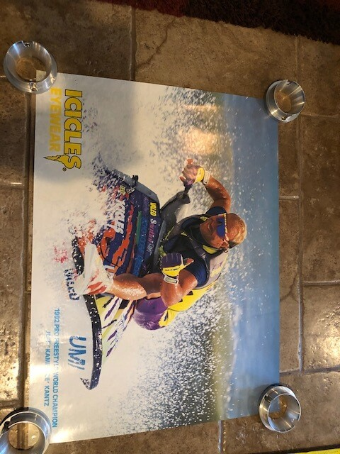 "1992 Jeff ""Kamikaze"" Kants World Champion poster"