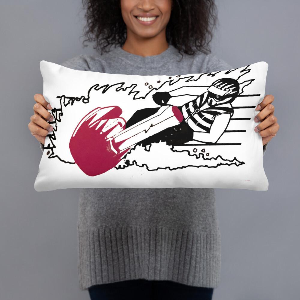 Action Jet Skier Basic Pillow