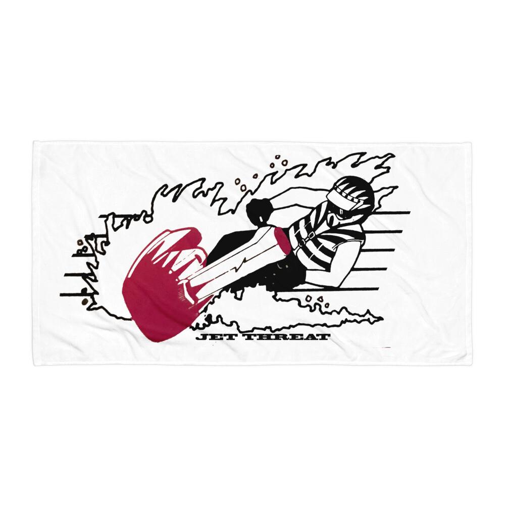 Jet Threat Beach Towel Jet Skier