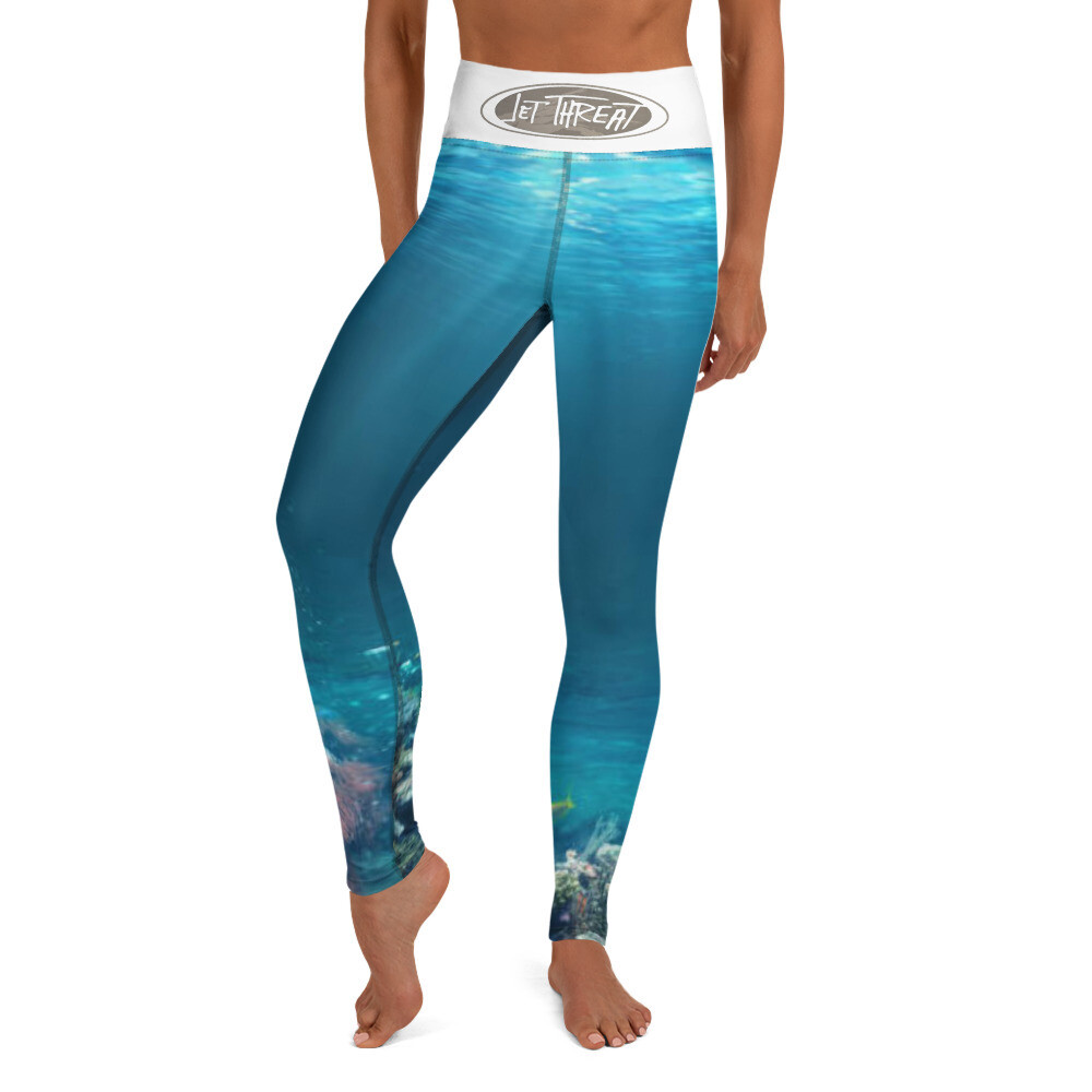 Jet Threat SEA Yoga Leggings