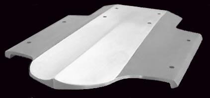 Shredmaster Ultra 150 Ride Plate