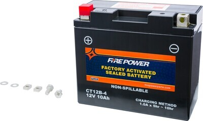 FIRE POWER BATTERY CT12B-4 SEALED FACTORY ACTIVATED