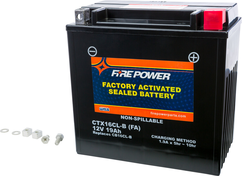 FIRE POWER BATTERY CTX16CL-B SEALED FACTORY ACTIVATED