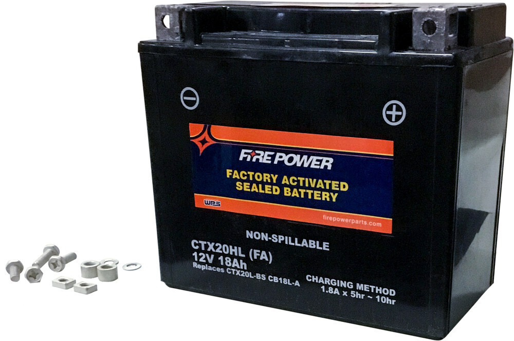 FIRE POWER BATTERY CTX20HL SEALED FACTORY ACTIVATED