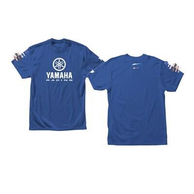 D'COR YAMAHA RACING T-SHIRT BLUE