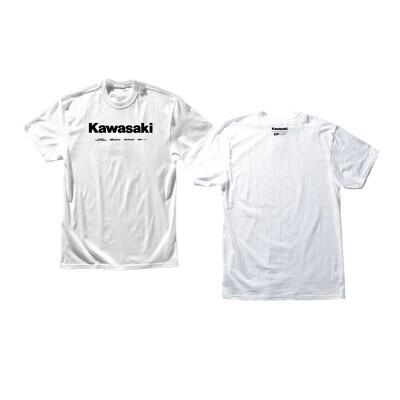D'COR KAWASAKI RACING TSHIRT WHITE