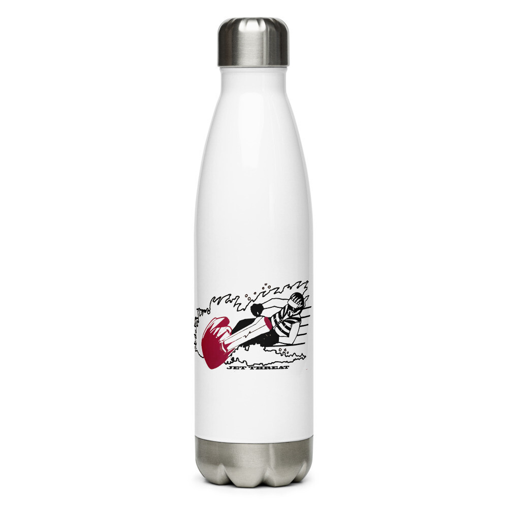 Jet Threat Stainless Steel Water Bottle