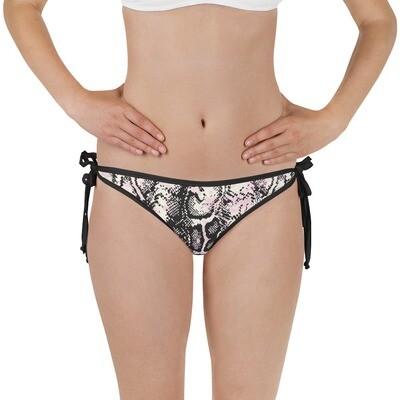 Snake Pink Bikini Bottom