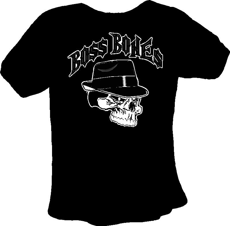 Boss Bones T-Shirt With Logo