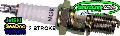 NGK BR8ES Spark Plug Jet Ski Sea Doo Yamaha