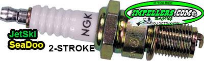 NGK BR7ES Spark Plug Kawasaki Jet Ski Sea Doo