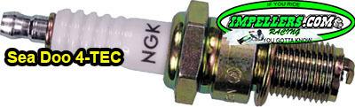 NGK DCPR8E Spark Plug Sea Doo GTi 4-Tec 07-18 GTR 13-15 GTX 02-15 RXP/X & RXT-X07-15 WAKE 07-17
