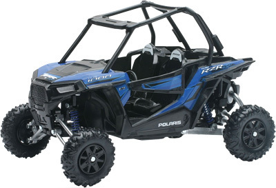 NEW-RAY DIE-CAST REPLICA POLARIS RZR XP 1000 BLUE 1:18