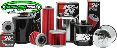 K&N Oil Filter BRP 4-Stroke (except spark) Sea Doo 4-TEC Scarab Vortex