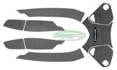 Hydro Turf Sea Doo RXT iS 260 RXT As 260 09-16 Mat Kit black 7 piece