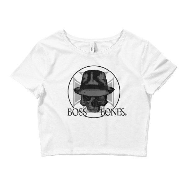 Boss Bones Gangster Women's Crop Tee