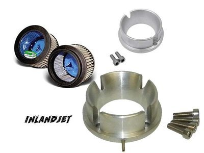 Inland Jet Air Filter Kit 2-Stroke PWC & JetBoat (fits 1 carb)