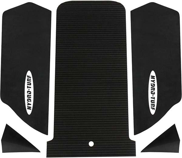 Hydro Turf Kawasaki SX-R 1500 mat kit with 2inch corner kicks 5 piece Black
