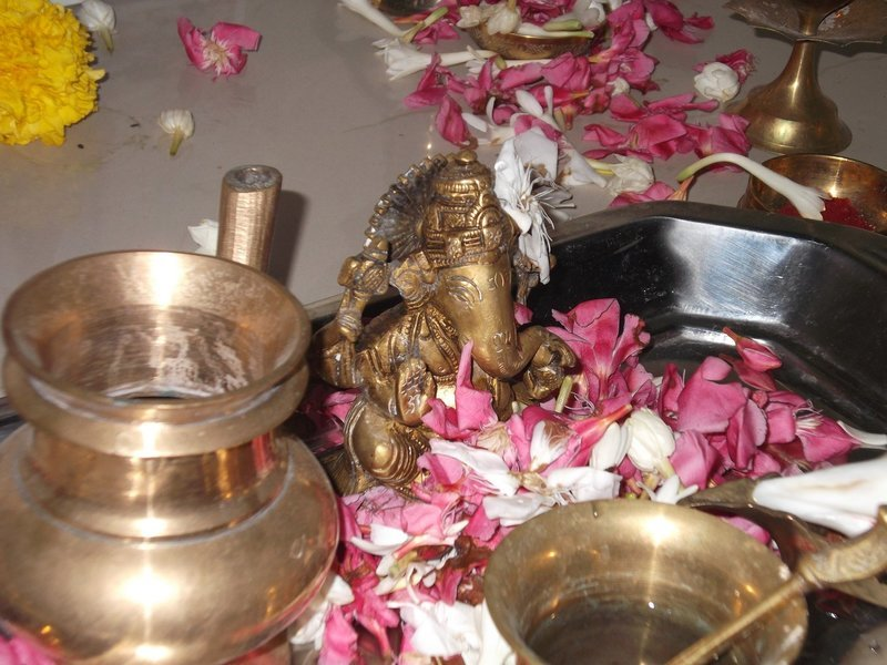 Group Puja or Homa in absenthia