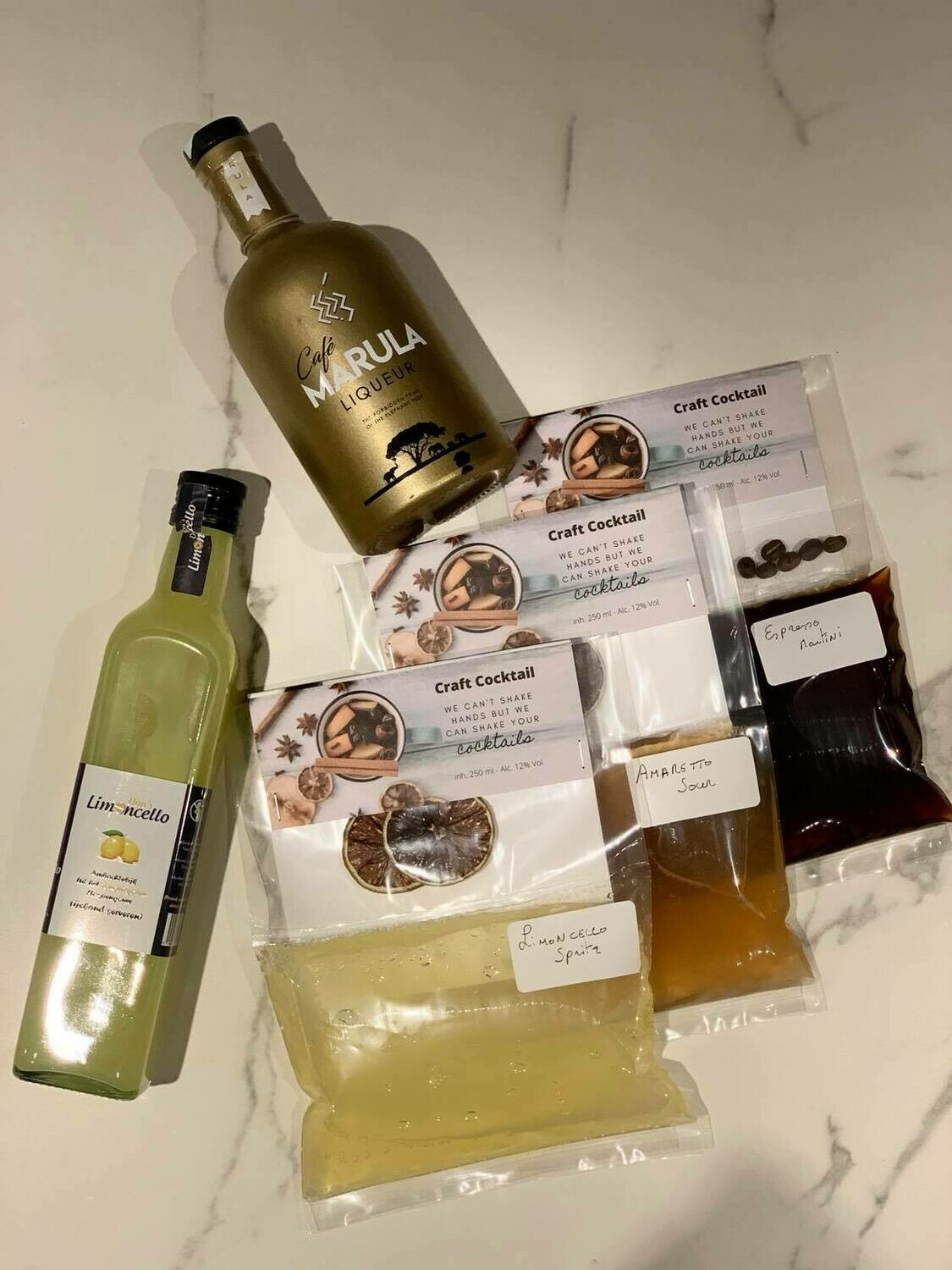 Cocktail in bag (3x 2 cocktails)