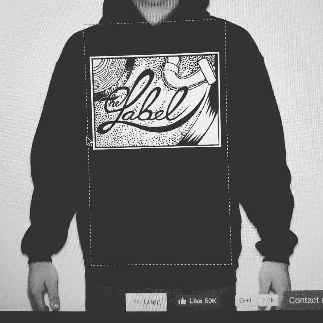 The Label Noir Hoodie
