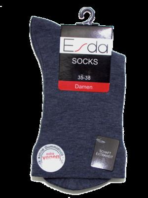 Damen Socken mit Trichterrand Doppelpack