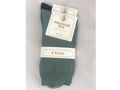 Damen Socken Baumwoll-Bambus-Mix Doppelpack