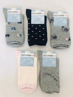Damen Socken Motivdruck Einzelpaar