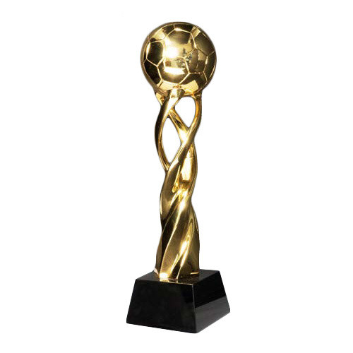 פסל הוקרה כדורגל זהב- קופסה מהודרת