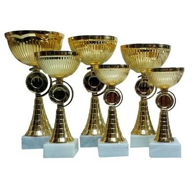 גביע זהב איכותי  101-19006- 6 מידות