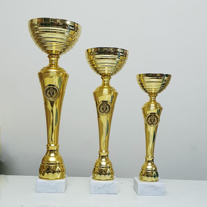 גביע זהב ענק איכותי במחיר אטרקטיבי - 3 מידות
