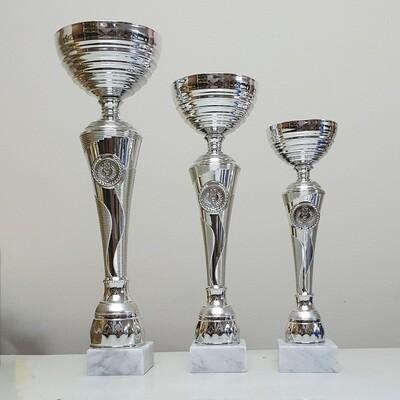 גביע כסף ענק איכותי במחיר אטרקטיבי - 3 מידות