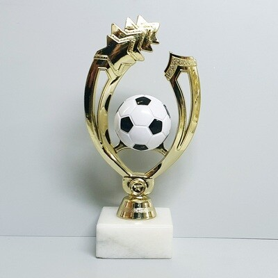 פסלון כדורגל גובה 22 ס