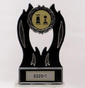דגם 5220 מגן פלסטיק עם סמל ענף/לוגו  כולל הקדשה 3 מידות לבחירה