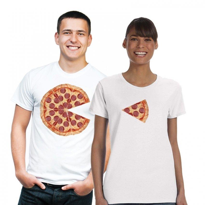 חולצות זוגיות - פיצה